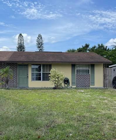 2280 NE Rustic Way, Jensen Beach, FL 34957 (#RX-10733433) :: The Rizzuto Woodman Team