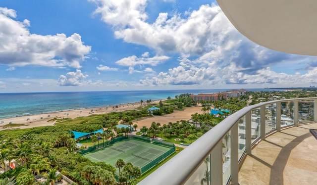 2700 N Ocean Drive 1004B, Riviera Beach, FL 33404 (#RX-10733677) :: The Power of 2 | Century 21 Tenace Realty