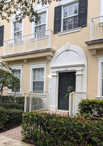 116 W Royal Palm Circle #103, Jupiter, FL 33458 (#RX-10733881) :: DO Homes Group