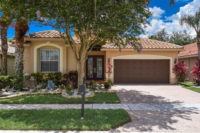7196 Trentino Way, Boynton Beach, FL 33472 (MLS #RX-10734144) :: Miami Villa Group