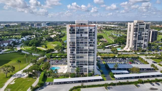 2400 Presidential Way #1004, West Palm Beach, FL 33401 (#RX-10734348) :: Dalton Wade