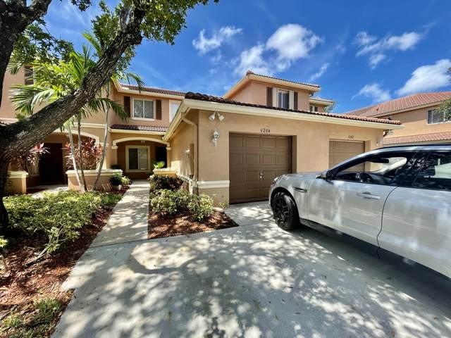 6204 Sandy Bank Terrace, Riviera Beach, FL 33407 (MLS #RX-10734408) :: Berkshire Hathaway HomeServices EWM Realty
