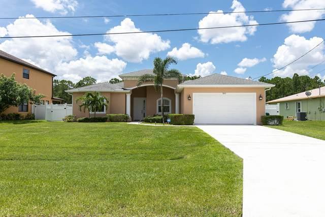 5833 NW Zenith Drive, Port Saint Lucie, FL 34986 (MLS #RX-10734410) :: Berkshire Hathaway HomeServices EWM Realty