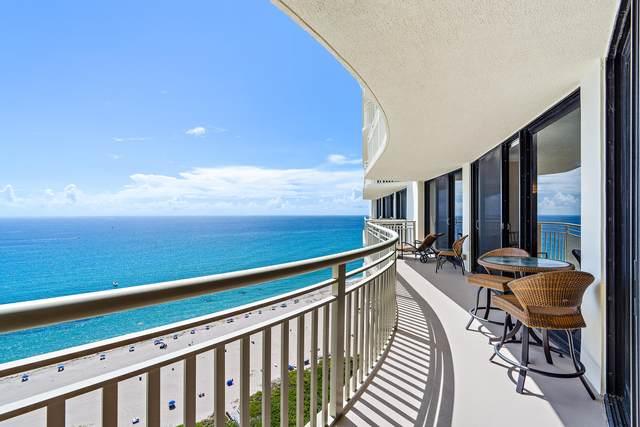 3000 N Ocean Drive 26E, Singer Island, FL 33404 (MLS #RX-10734458) :: Castelli Real Estate Services