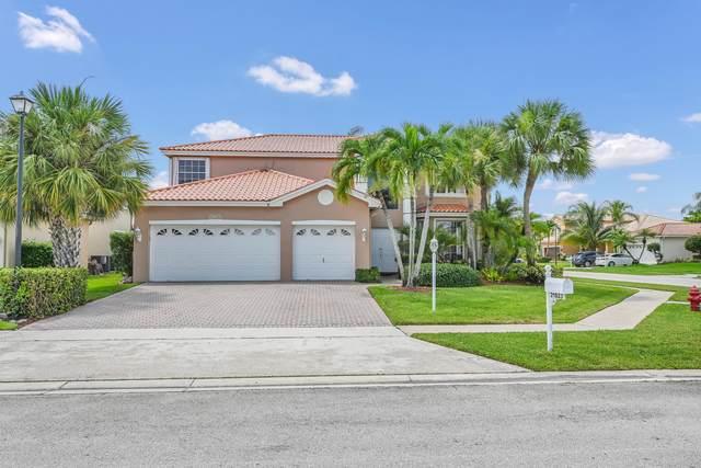 21823 Palm Grass Drive, Boca Raton, FL 33428 (MLS #RX-10734640) :: Berkshire Hathaway HomeServices EWM Realty