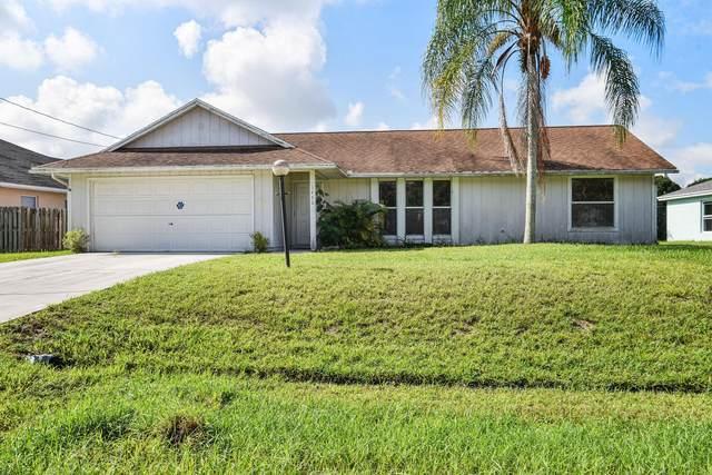 1450 SW Gilroy Road, Port Saint Lucie, FL 34953 (MLS #RX-10734647) :: Berkshire Hathaway HomeServices EWM Realty