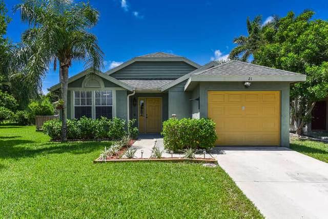 21 Misty Meadow Drive, Boynton Beach, FL 33436 (#RX-10734656) :: Dalton Wade