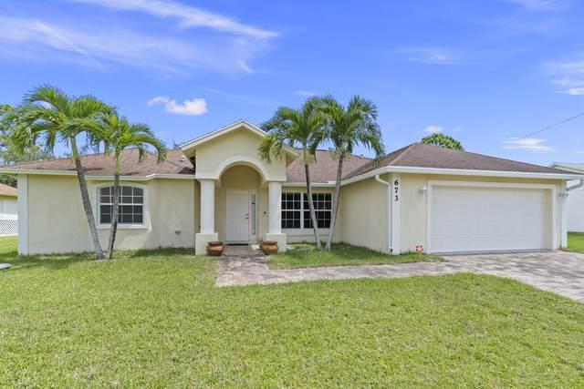 673 SE Ron Rico Terrace, Port Saint Lucie, FL 34953 (MLS #RX-10734686) :: The Teri Arbogast Team at Keller Williams Partners SW