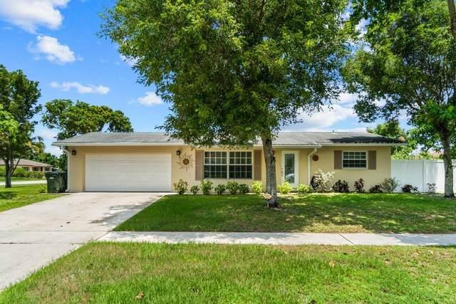 3100 Angler Drive, Delray Beach, FL 33445 (#RX-10734795) :: Treasure Property Group