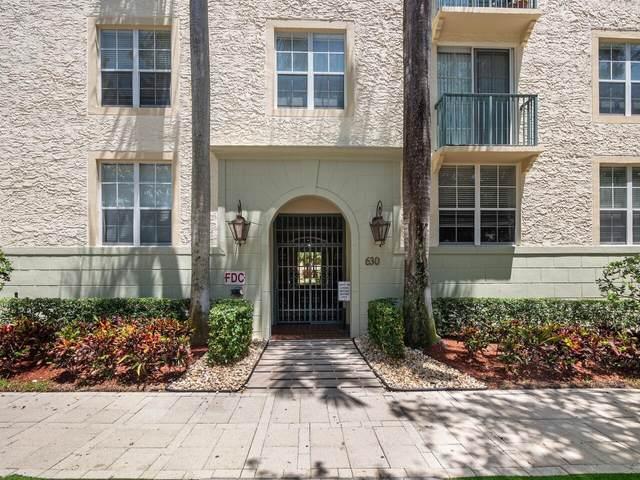 630 S Sapodilla Avenue #104, West Palm Beach, FL 33401 (#RX-10735076) :: Treasure Property Group