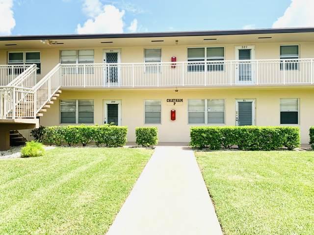 314 Chatham P #314, West Palm Beach, FL 33417 (#RX-10735091) :: Treasure Property Group
