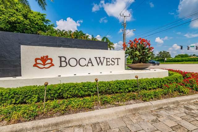 19349 Sabal Lake Drive, Boca Raton, FL 33434 (#RX-10735293) :: Baron Real Estate