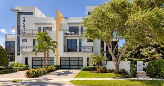 150 Andrews Avenue #4, Delray Beach, FL 33483 (MLS #RX-10735333) :: Berkshire Hathaway HomeServices EWM Realty