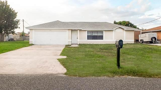 1741 Apache Street NE, Palm Bay, FL 32907 (MLS #RX-10735450) :: Berkshire Hathaway HomeServices EWM Realty