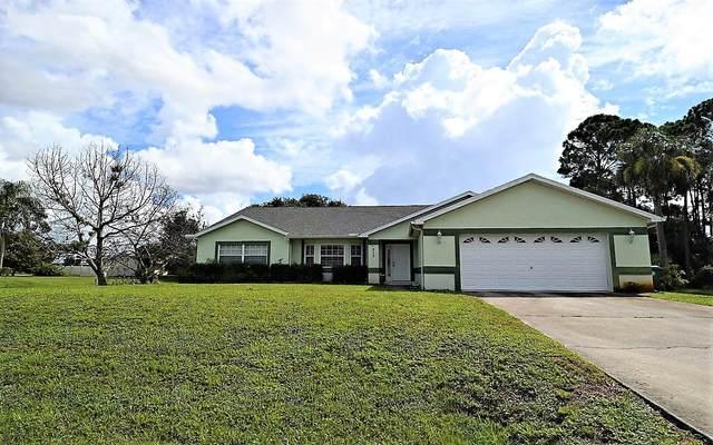 215 SW Lama Avenue, Port Saint Lucie, FL 34953 (MLS #RX-10735455) :: Berkshire Hathaway HomeServices EWM Realty