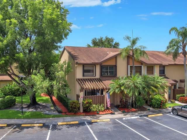 3960 Cocoplum Cr Circle 3960-A, Coconut Creek, FL 33063 (MLS #RX-10735531) :: Berkshire Hathaway HomeServices EWM Realty