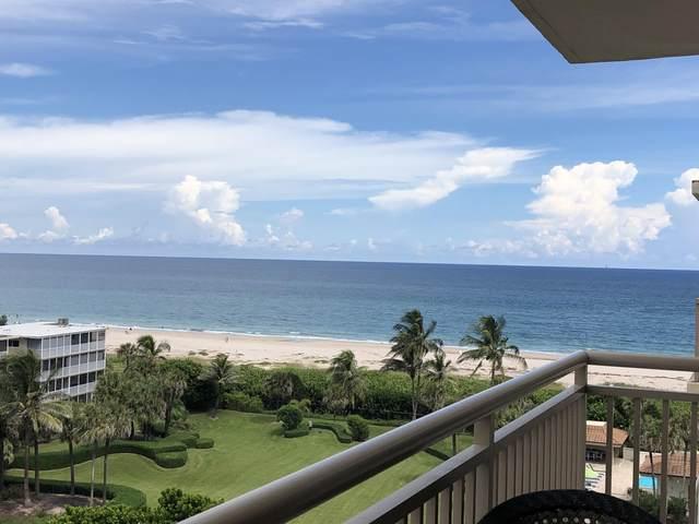 3400 N Ocean Drive #803, Riviera Beach, FL 33404 (MLS #RX-10735536) :: Berkshire Hathaway HomeServices EWM Realty