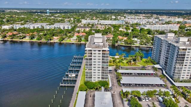 220 Macfarlane Drive S S-703, Delray Beach, FL 33483 (#RX-10735609) :: Signature International Real Estate