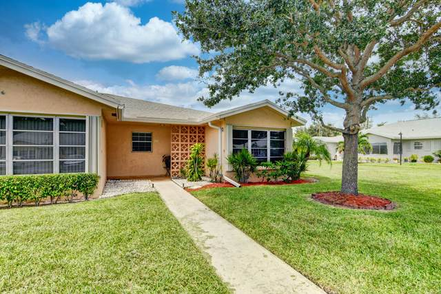 14396 Canalview Drive D, Delray Beach, FL 33484 (#RX-10735623) :: Signature International Real Estate
