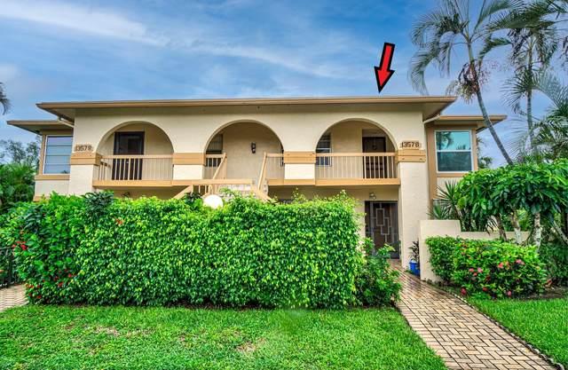 13578 Sabal Palm Court D, Delray Beach, FL 33484 (MLS #RX-10735855) :: The Jack Coden Group
