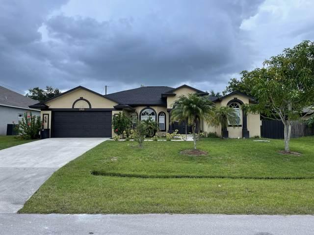 3305 SW Frankford Street, Port Saint Lucie, FL 34953 (#RX-10736003) :: Ryan Jennings Group