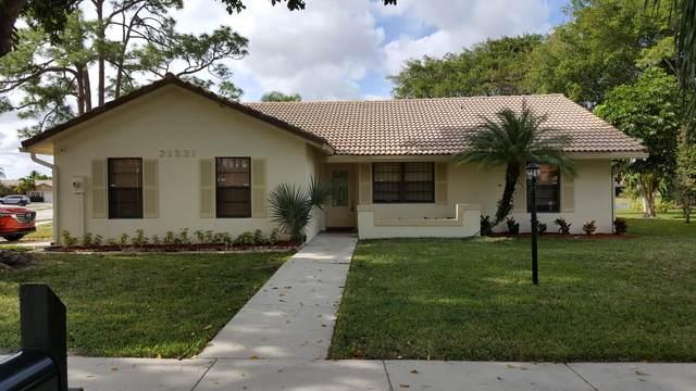 21331 Chinaberry Drive, Boca Raton, FL 33428 (#RX-10736029) :: Treasure Property Group