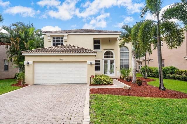 2111 Reston Circle, Royal Palm Beach, FL 33411 (#RX-10736116) :: The Power of 2   Century 21 Tenace Realty