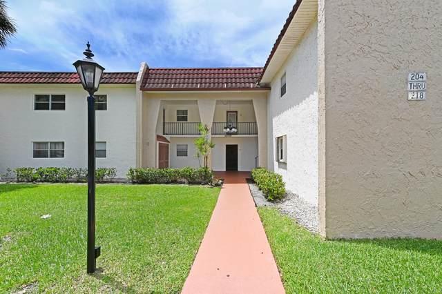 214 Lake Frances Drive #214, West Palm Beach, FL 33411 (#RX-10736328) :: Heather Towe | Keller Williams Jupiter
