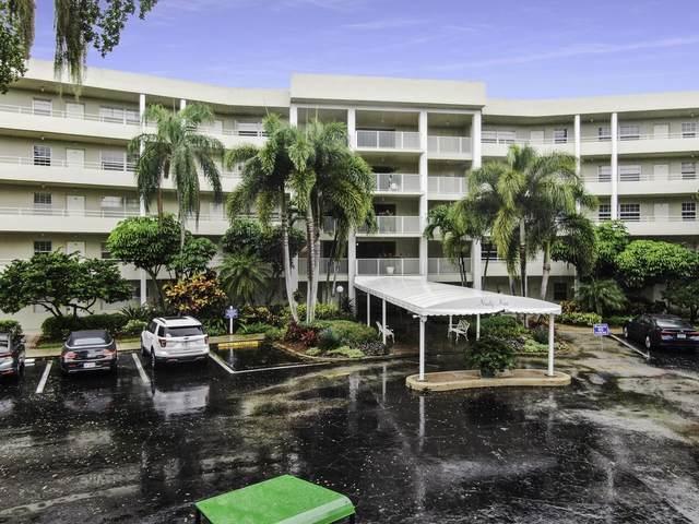 821 Cypress Boulevard #406, Pompano Beach, FL 33069 (#RX-10736346) :: The Power of 2 | Century 21 Tenace Realty