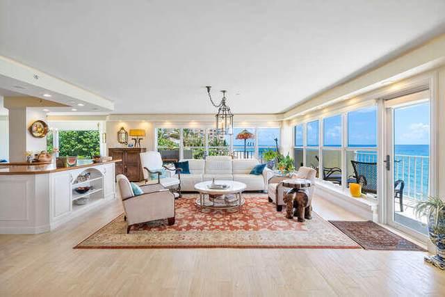 4605 S Ocean Boulevard 4D, Highland Beach, FL 33487 (#RX-10736681) :: Baron Real Estate