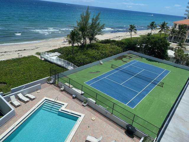 3407 S Ocean Blvd 7 C, Highland Beach, FL 33487 (#RX-10737029) :: DO Homes Group