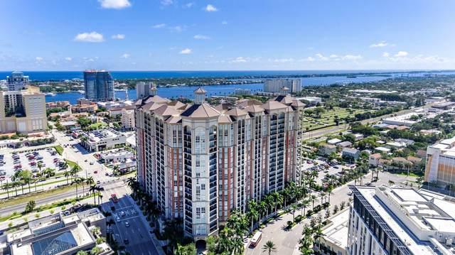 550 Okeechobee Boulevard #622, West Palm Beach, FL 33401 (#RX-10737349) :: Heather Towe   Keller Williams Jupiter