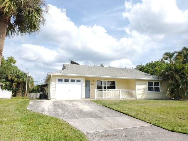 2317 SW Norton Street, Port Saint Lucie, FL 34953 (MLS #RX-10737675) :: The Jack Coden Group