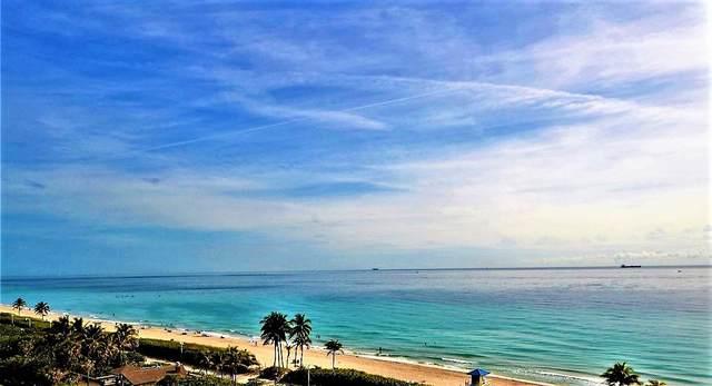 3501 N Ocean Drive 7F, Hollywood, FL 33019 (#RX-10738190) :: Heather Towe | Keller Williams Jupiter