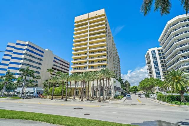 1551 N Flagler Drive #1516, West Palm Beach, FL 33401 (MLS #RX-10738769) :: Berkshire Hathaway HomeServices EWM Realty