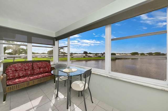 1112 Lake Ter 205 Terrace #205, Boynton Beach, FL 33426 (#RX-10739017) :: Heather Towe   Keller Williams Jupiter