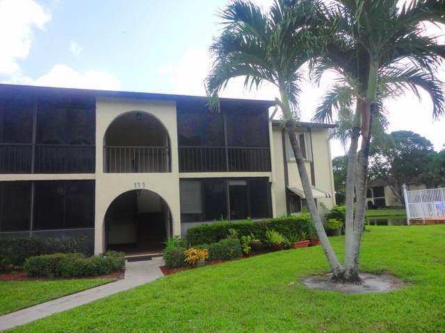 111 Lake Pine Circle D-2, Greenacres, FL 33463 (#RX-10739570) :: IvaniaHomes   Keller Williams Reserve Palm Beach