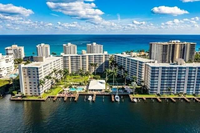 3300 S Ocean Boulevard 420-C, Highland Beach, FL 33487 (#RX-10739866) :: IvaniaHomes   Keller Williams Reserve Palm Beach