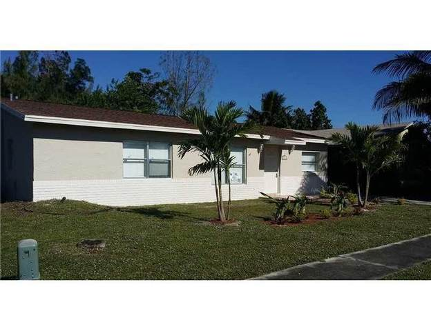 7811 SW 9th Street, North Lauderdale, FL 33068 (#RX-10740044) :: The Reynolds Team | Compass