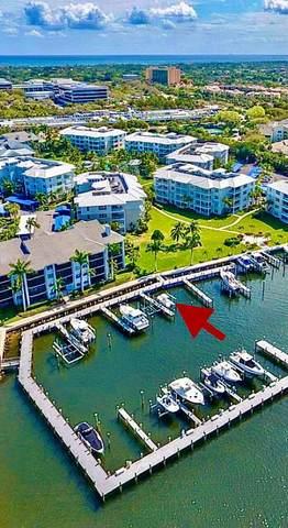 1014 Bay Colony Drive Slip #5, Juno Beach, FL 33408 (MLS #RX-10740045) :: The DJ & Lindsey Team