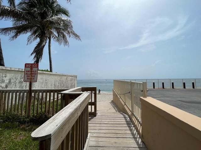 3500 S Ocean Boulevard #104, South Palm Beach, FL 33480 (MLS #RX-10740217) :: Berkshire Hathaway HomeServices EWM Realty