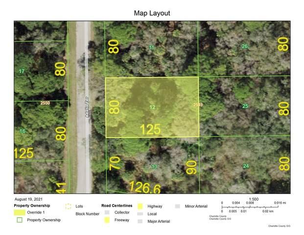 1096 Adalia Terrace, Port Charlotte, FL 33953 (MLS #RX-10740232) :: The Jack Coden Group