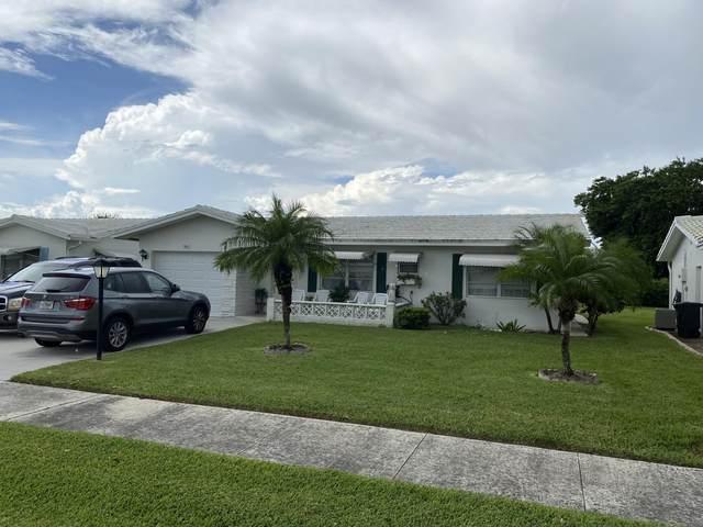 901 Ocean Drive, Boynton Beach, FL 33426 (#RX-10740454) :: Baron Real Estate