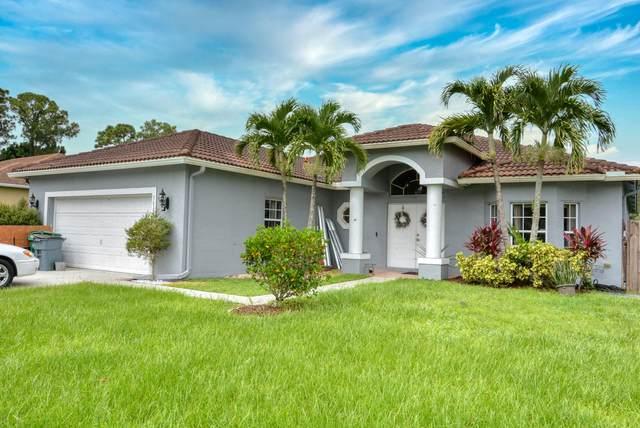 3032 SW Savona Boulevard, Port Saint Lucie, FL 34953 (MLS #RX-10740462) :: Castelli Real Estate Services