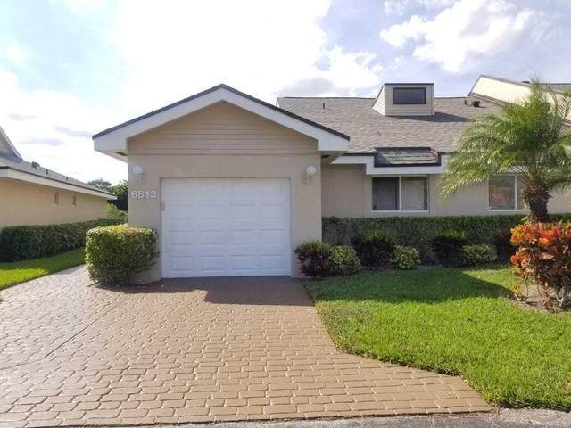 6813 Fountains Circle, Lake Worth, FL 33467 (MLS #RX-10740497) :: Castelli Real Estate Services