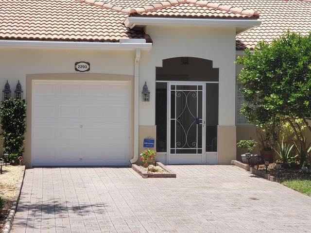 2293 Windjammer Way ., West Palm Beach, FL 33411 (#RX-10740569) :: Heather Towe | Keller Williams Jupiter