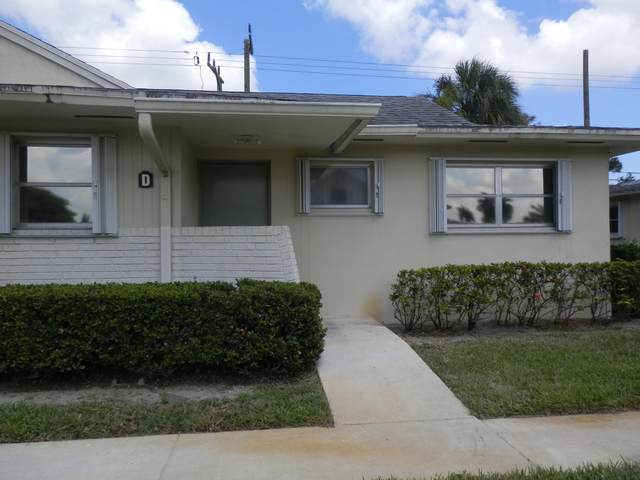 4790 Cresthaven Boulevard D, West Palm Beach, FL 33415 (MLS #RX-10741307) :: Castelli Real Estate Services