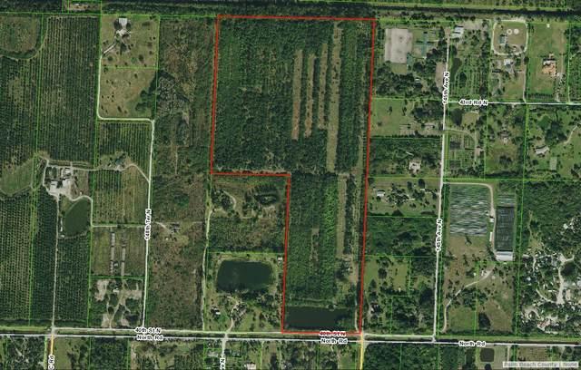 14563 N North Road, Loxahatchee, FL 33470 (#RX-10741455) :: Michael Kaufman Real Estate
