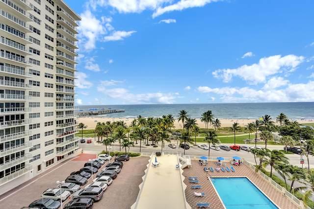 111 N Pompano Beach Boulevard #813, Pompano Beach, FL 33062 (#RX-10741926) :: IvaniaHomes   Keller Williams Reserve Palm Beach