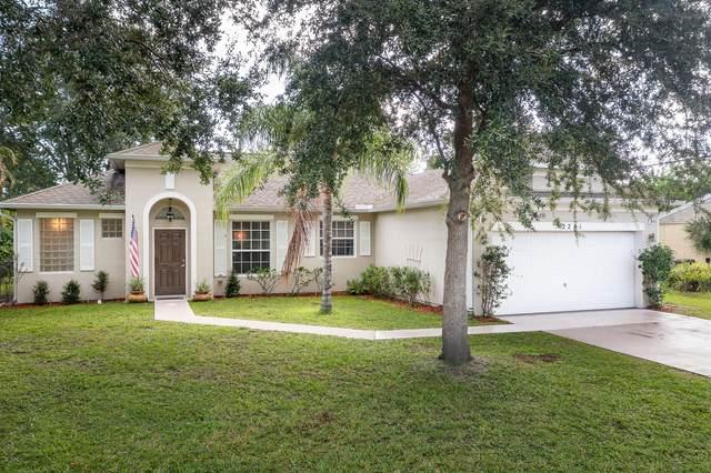 2281 SE Holland Street, Port Saint Lucie, FL 34952 (#RX-10742129) :: Baron Real Estate